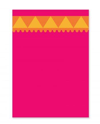 Vykort Saree - gratulationskort, hälsning