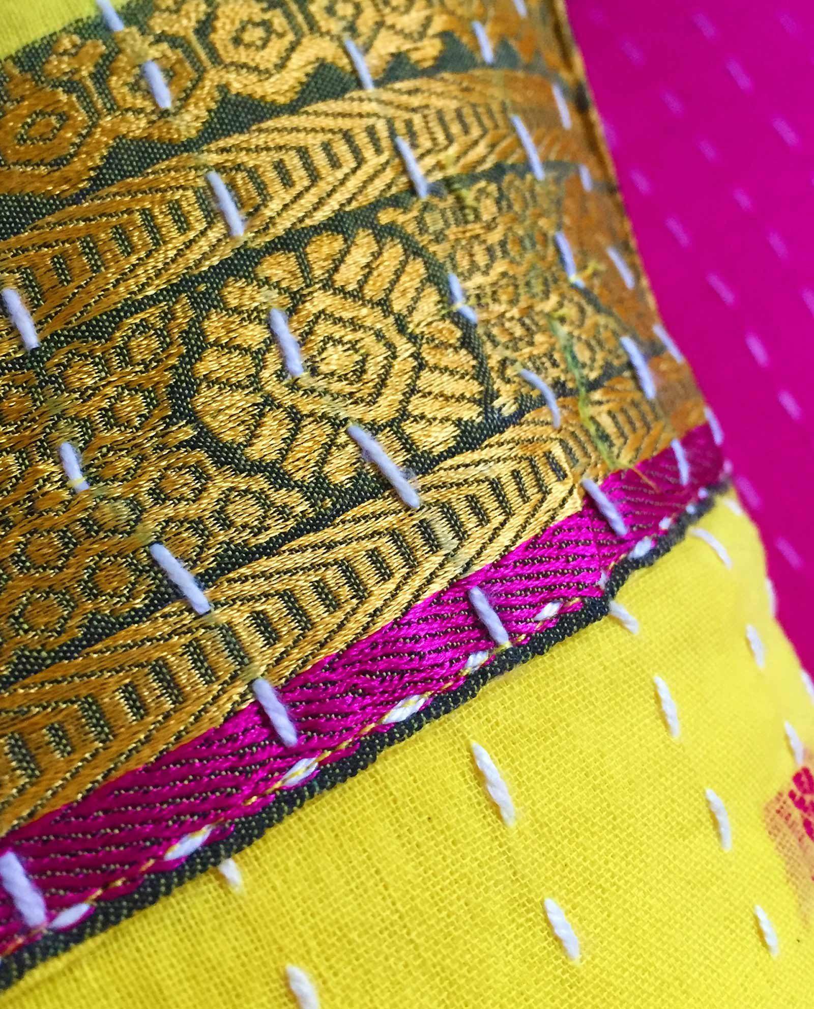 Indiska kuddar - handquiltade, unika, design