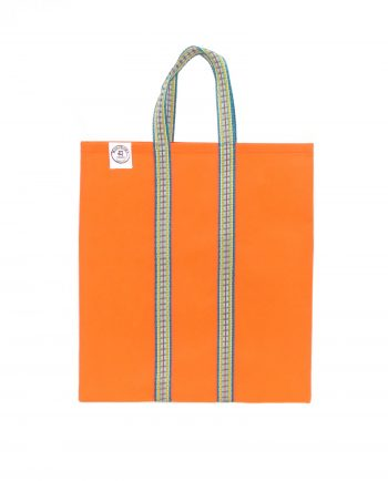 Indisk shoppingväska, totebag, påse, väska - orange