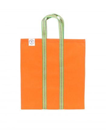 Indisk shoppingväska, totebag, påse, väska - orange