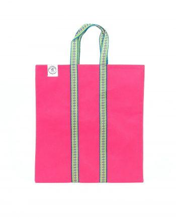 Indisk shoppingväska - totebag - rosa