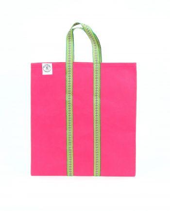 Indisk shoppingväska, totebag, påse, väska - rosa