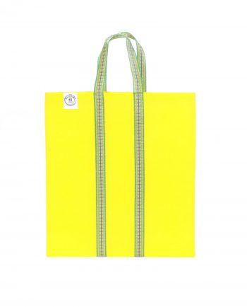 Indisk shoppingväska, totebag, påse, väska - gul