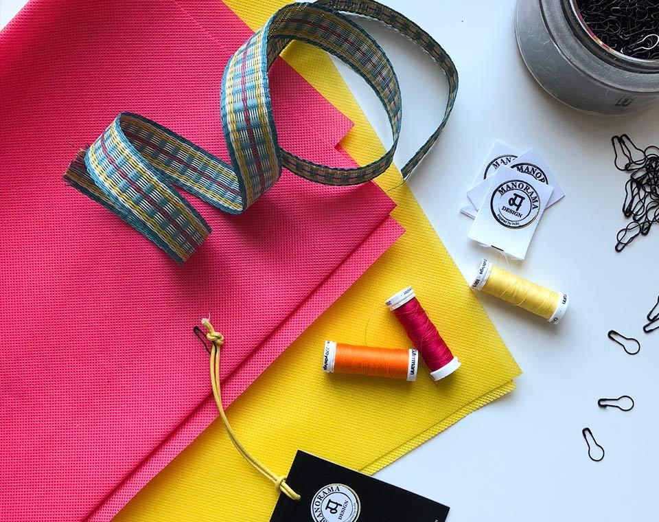 Material till väskorna