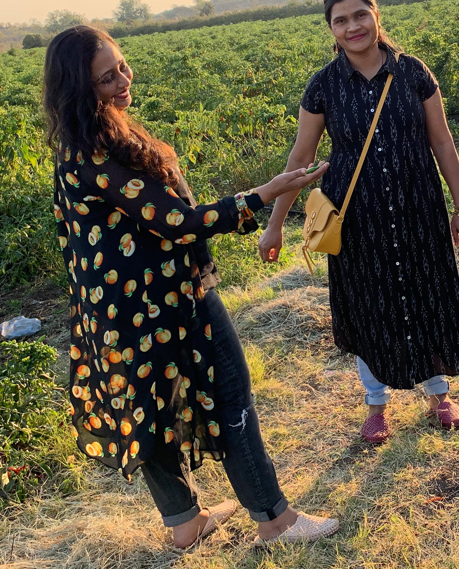 Handgjorda tofflor från Indien
