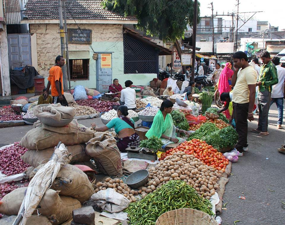 Upplev Indien - marknanden